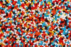 Kolorowy paciorkowaty tło Obraz Royalty Free