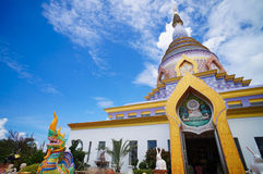 Kolorowy pagoda2 w Chiang Mai Tajlandia Zdjęcia Stock