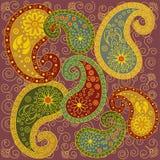 kolorowy Paisley Zdjęcie Royalty Free