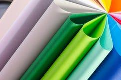 Kolorowy papier Fotografia Royalty Free