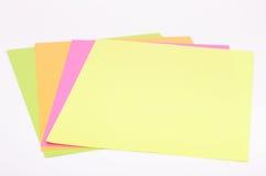 kolorowy papier zdjęcia stock