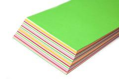 kolorowy papier Zdjęcie Royalty Free