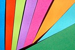 Kolorowy papierowy pomysłowo i abstrakcjonistyczny tło obraz royalty free