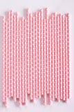 Kolorowy papierowy słomiany tło Fotografia Stock