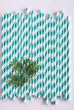 Kolorowy papierowy słomiany tło Obraz Royalty Free