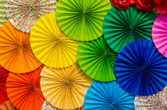 Kolorowy papierowy tło Obrazy Stock