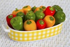 kolorowy paprica Zdjęcia Stock