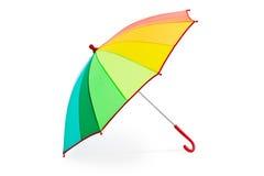 Kolorowy parasol Zdjęcia Royalty Free
