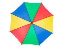 Kolorowy parasol, odgórny widok Zdjęcia Stock