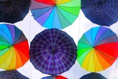 Kolorowy parasolowy projekta wzór Fotografia Royalty Free