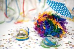 Kolorowy Piórkowy lata świętowanie zdjęcie stock