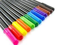 Kolorowy pióro zdjęcia stock