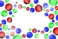 Kolorowy piłki świętowania tło Obrazy Royalty Free