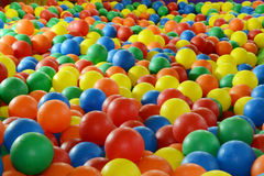 Kolorowy piłki tło Zdjęcia Stock