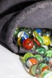 kolorowy piłka marmur Zdjęcia Royalty Free