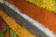Kolorowy piaska tło Zdjęcia Royalty Free