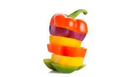 kolorowy pieprz Zdjęcie Stock