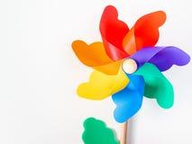 kolorowy pinwheel zdjęcie royalty free