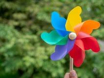 kolorowy pinwheel zdjęcia royalty free