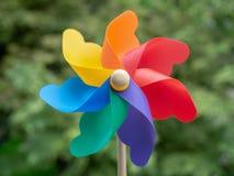 kolorowy pinwheel fotografia stock