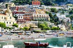 Kolorowy pionowo miasto zdjęcie royalty free