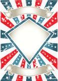 kolorowy plakat Obraz Royalty Free