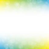Kolorowy plama abstrakta tło Obraz Royalty Free