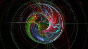 Kolorowy planety ziemi abstrakta tło Fotografia Stock