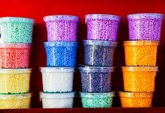Kolorowy plastilina Obrazy Stock