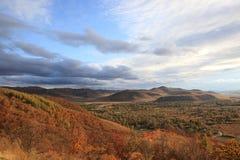 kolorowy plateau Obrazy Royalty Free