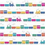 Kolorowy pociągu tło Zdjęcie Stock