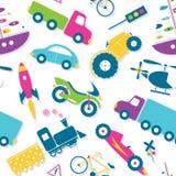 Kolorowy pojazdu wzór Zdjęcia Royalty Free
