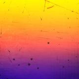 Kolorowy porysowany rocznika tło Zdjęcia Royalty Free
