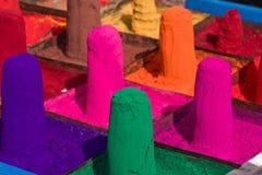 Kolorowy prochowy kumkum zdjęcie royalty free