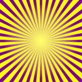 Kolorowy promienia tło royalty ilustracja