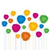 Kolorowy przetwarza symbolu deseniowego tło Obrazy Royalty Free