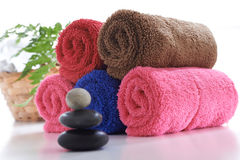 Kolorowy ręcznik Zdjęcia Royalty Free