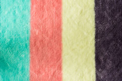 Kolorowy ręcznik Obraz Stock