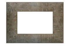 kolorowy ramowy drewna Fotografia Royalty Free
