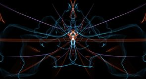 Kolorowy raster fractal tło Obraz Stock
