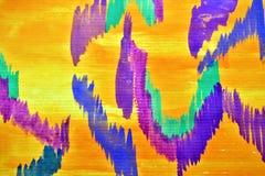 Kolorowy rysunkowy b Fotografia Royalty Free