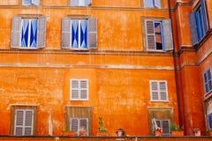 Kolorowy Rzym Fotografia Royalty Free