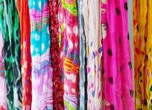 Kolorowy Scafs Fotografia Stock