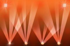 Kolorowy sceny światło, koncert lub royalty ilustracja