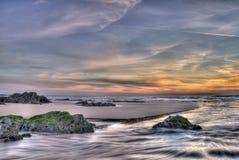 kolorowy seascape Obrazy Royalty Free