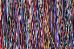 Kolorowy sieć kabel, drut i Obraz Royalty Free
