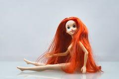 Kolorowy skład z Barbie lalami Zdjęcie Royalty Free