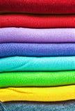 Kolorowy skarpety tło Fotografia Stock