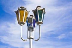 kolorowy streetlight Zdjęcie Stock