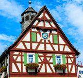 Kolorowy struktura dom w wiosce zdjęcie royalty free